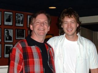 David with Paul Brandt at Hugh's Room