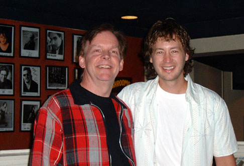David with Paul Brandt at Hugh's Room